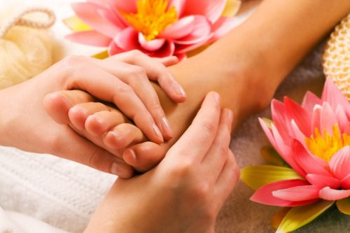 Reflexology to Reduce Stress!