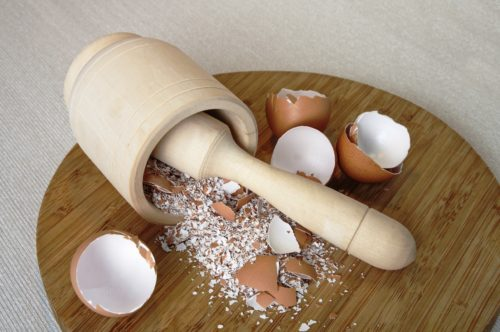 Tooth Cavities Using Only Eggshells