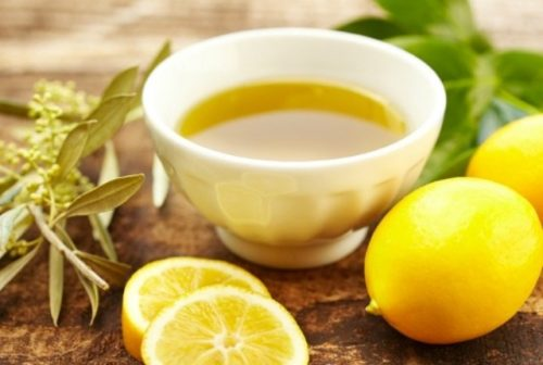 One Lemon and Olive Oil