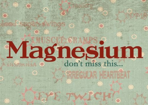 Symptoms that Show you Magnesium Deficient and How to Treat It